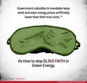 Blindfold Green Energy Pic