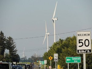 Port Dover Cluster of 13 Turbines