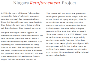 NiagaraReinforcement