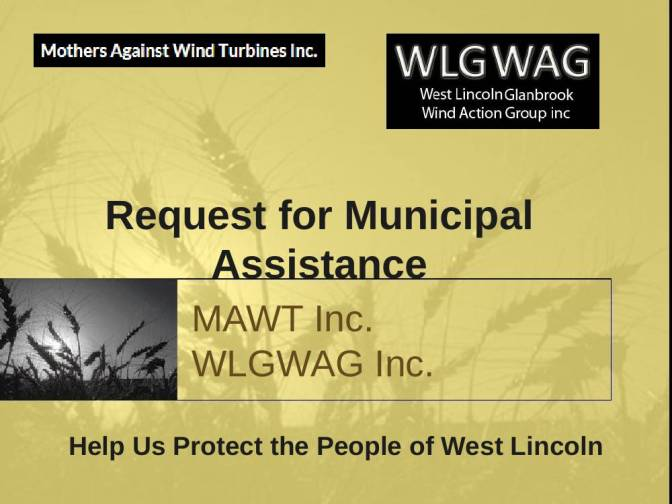 WLGWAG Inc. and MAWT Inc. request Municipal Support in Constitutional Challenge