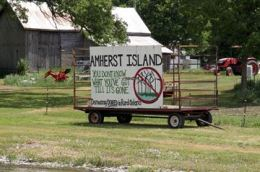 amherst Island haywagon