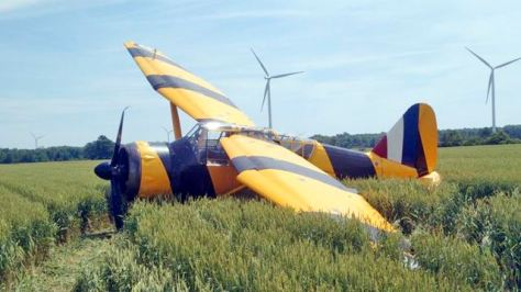 haldimand airplane crash