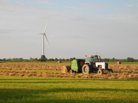 turbine and tractor