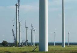 towers of turbines