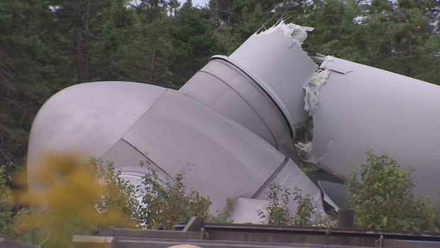 Scottish Wind Power Company Attempts to Cover Up Turbine Collapse