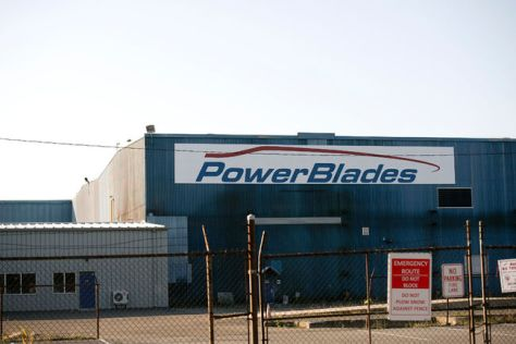 power blade plant Welland