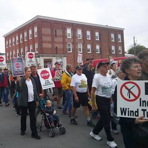 protest picton
