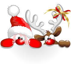 santa and reindeer 3