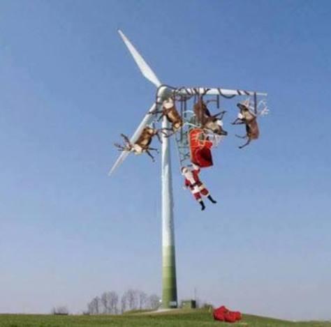 santa & enercon turbine a
