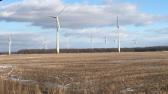 Niagara wind enercon turbines