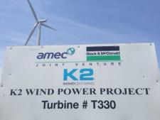 k2 wind turbine T330