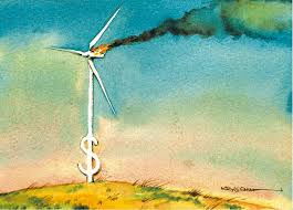money burning turbine