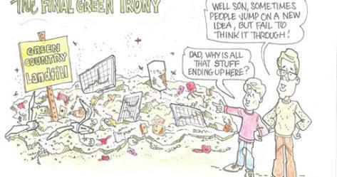 green landfill